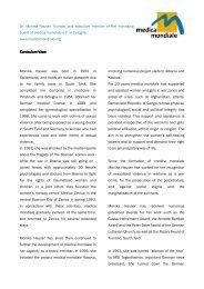 Curriculum vitae Dr. Monika Hauser