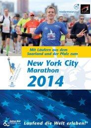 New York City Marathon - Firmenlauf