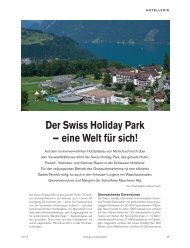 Der Swiss Holiday Park in Morschach