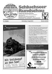 Rundschau Nr. 32 - 33 - 34.pdf - Gemeinde Schluchsee