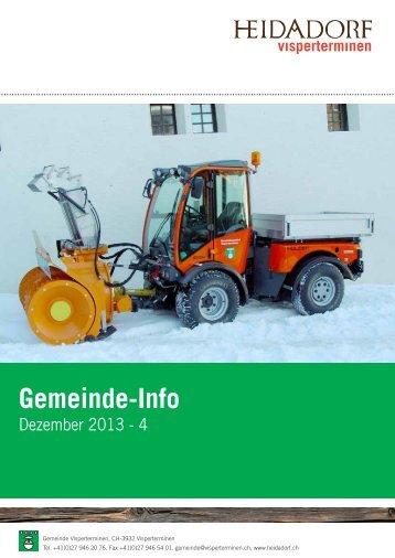 Gemeinde-Info - Heidadorf