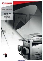 Kopiarka iR75W