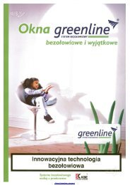 Okna Greenline