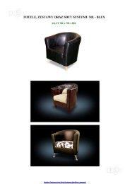 Fotele, Zestawy oraz Sofy Systemu Me-Blex
