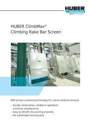 HUBER ClimbMax® Climbing Rake Bar Screen