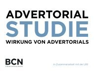 Redaktionelle Advertorials - Burda Community Network