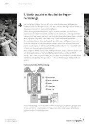 1. Wofür braucht es Holz bei der Papier herstellung? - Papierfabrik ...