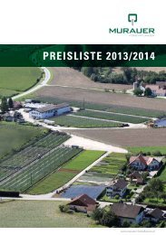 Preisliste 2013/2014 - Murauer Forstpflanzen