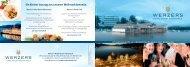 Weihnachtsfeiern A5 quer_neu.indd - Werzer's Hotels am Wörthersee