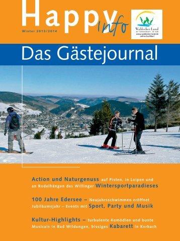 Happy Info Winterausgabe 2013 / 2014 - Bad Arolsen