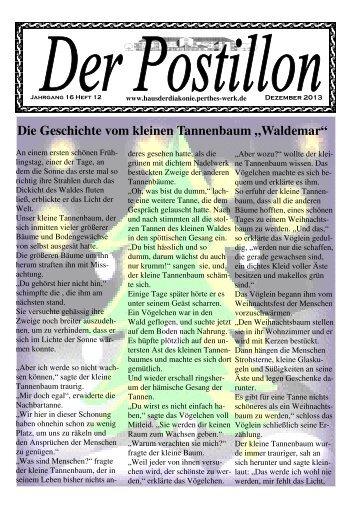 Die Geschichte vom kleinen Tannenbaum - Evangelisches Perthes ...