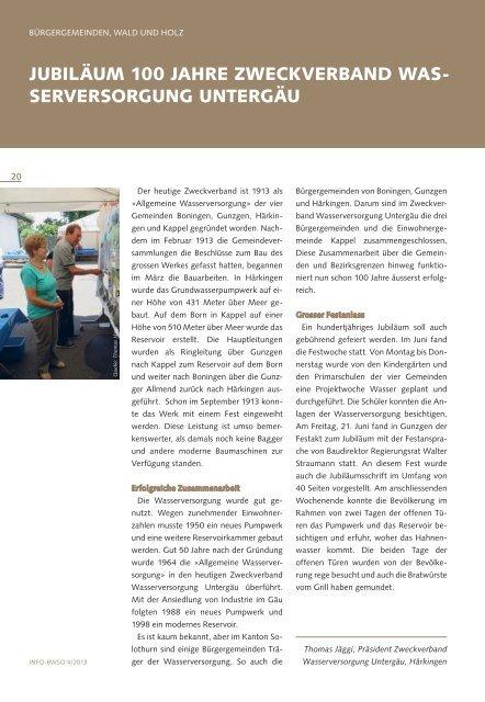 Info-Bulletin 4/13 anschauen - BWSo