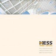 holzarchitektur industriebauten brettschichtholz - Holzbau und ...