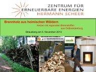Brennholzsortimente ernten: Verarbeitung und ... - ETI-Brandenburg