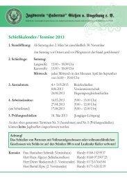 22736 Schießkalender - Termine 2013 a6.indd
