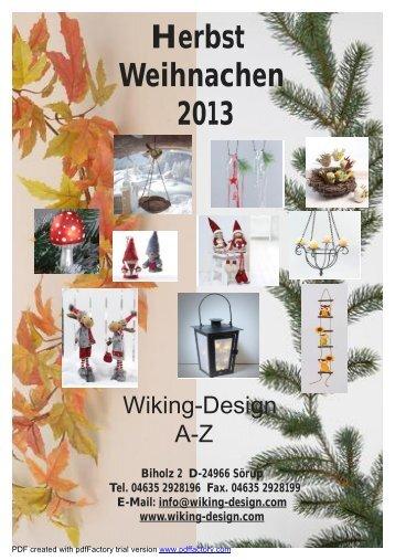 Weinachten 2013 - Wiking - Design