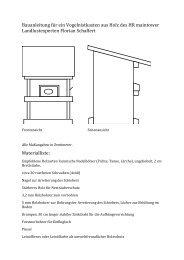 Nistkasten-Bauanleitung