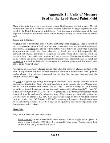 Chapter 7: Lead-Based Paint Inspection, Guidelines for the ... - HUD