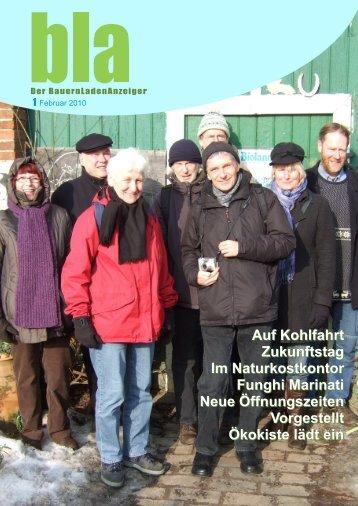 Auf Kohlfahrt Zukunftstag Im Naturkostkontor Funghi Marinati Neue ...