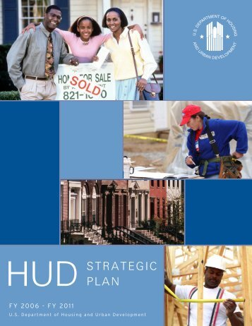 STRATEGIC PLAN - HUD