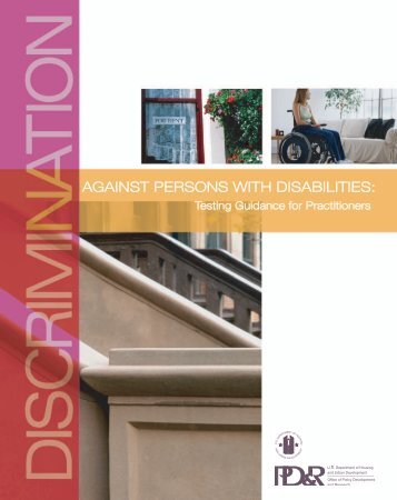 Discrimination Against Persons with Disabilities: Testing - HUD