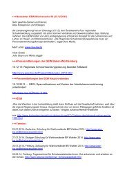 +++Newsletter GEW-Wochenecho 22 (30 - Gewerkschaft Erziehung ...