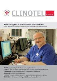 Intensivtagebuch: verlorene Zeit realer machen - CLINOTEL ...