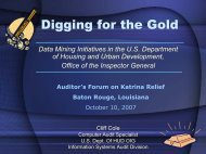 Digging for the Gold - HUD