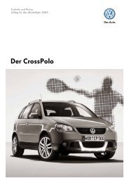 Der CrossPolo - Tauwald Automobile