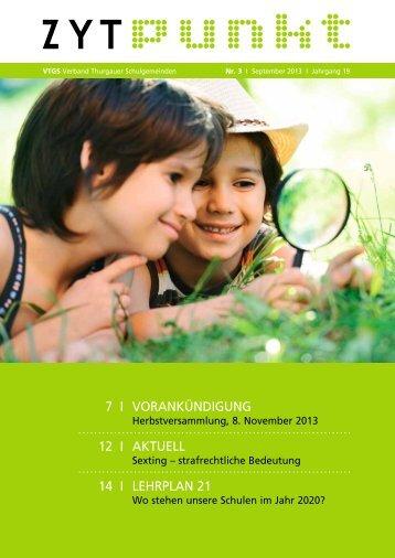 7 i vorankündigung 12 i aktuell 14 i lehrplan 21 - VTGS Verband ...