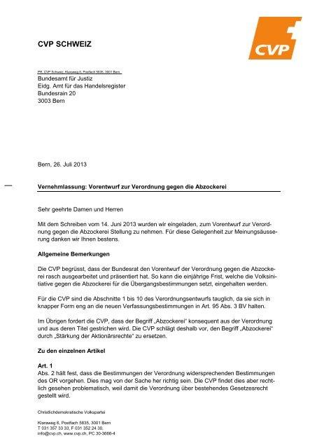 PDF herunterladen - CVP Schweiz