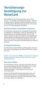 Sehen Sie hier Ihre Versicherungsleistungen der ... - Leutkircher Bank - Seite 4