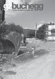 Oktober, November, Dezember 2013 - Zürcher Gemeinschaftszentren