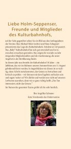 Unser Programm aUgUst bis Dezember 2013 - Kulturbahnhof Holm ... - Page 3