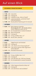 Unser Programm aUgUst bis Dezember 2013 - Kulturbahnhof Holm ... - Page 4