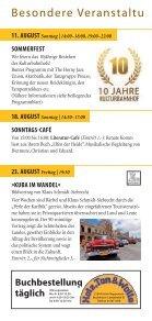 Unser Programm aUgUst bis Dezember 2013 - Kulturbahnhof Holm ... - Page 6