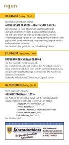 Unser Programm aUgUst bis Dezember 2013 - Kulturbahnhof Holm ... - Page 7