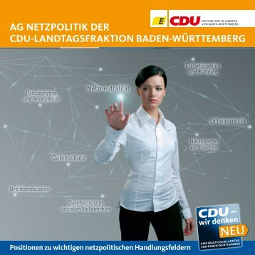 Positionspapier - CDU-Fraktion