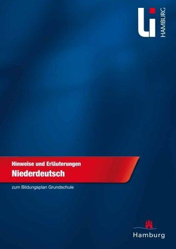 Niederdeutsch (PDF, 1,2 MB) - Landesinstitut für Lehrerbildung und ...