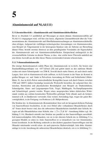 5 Aluminiumoxid auf Ni3Al(111)