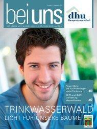 trinkwasserwald - Baugenossenschaft Deutsches Heim-Union eG