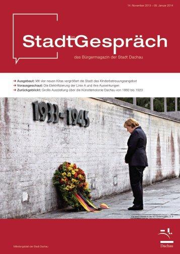 14. Nov. 2013 bis 09. Jan. 2014 - Dachau