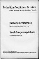 Personal- und Vorlesungsverzeichnis Sommersemester 1938 - Seite 2