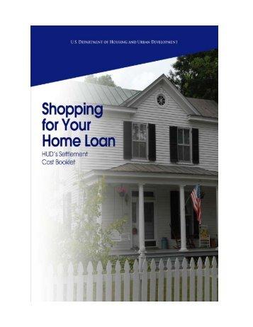 Settlement Costs Booklet - HUD