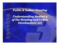 Section 3 History - HUD