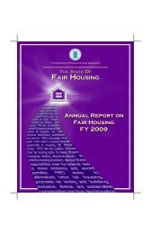 Annual Report on Fair Housing FY 2009 - HUD