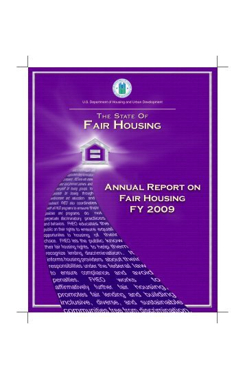 Annual Report on Fair Housing FY 2009 - HUD