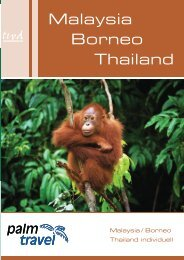 Malaysia Borneo Thailand - Palm Travel