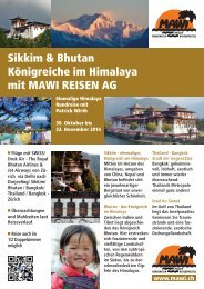 Reise als PDF downloaden - Mawi Reisen AG