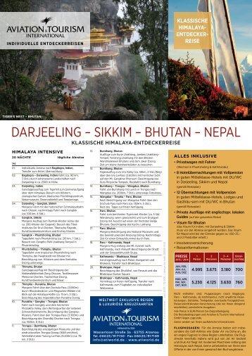 DArJEElIng – SIkkIm – BHuTAn – nEpAl - Exklusive Kreuzfahrten